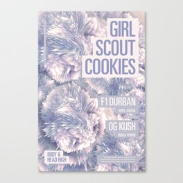 Girl Scout Cookies Canvas Print