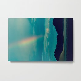 Flash of Rainbow Metal Print