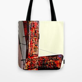 Ruhl's Photography Sign Tote Bag