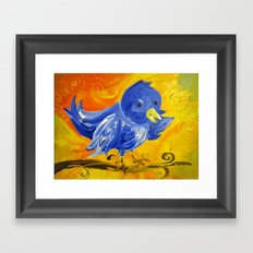 Tweet Tweet Framed Art Print