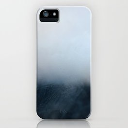 Foggy Horizon iPhone Case