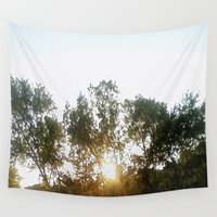 chill Wall Tapestries featuring Chill by stefani187