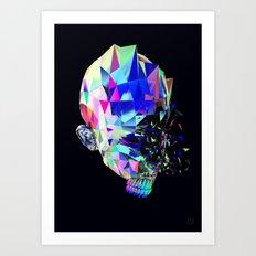HumanoidHead Art Print