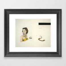 In Case Of Loss, Return To Dust Framed Art Print