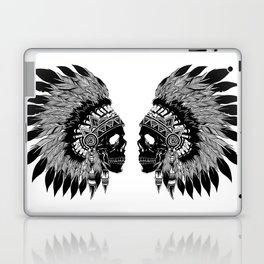 Native American Skull Laptop & iPad Skin