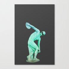 Fashion Discobolo Canvas Print