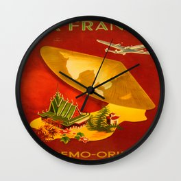 Vintage poster - Extremo-Oriente Wall Clock