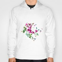 free shipping Hoodies featuring Rose garden by Ordiraptus