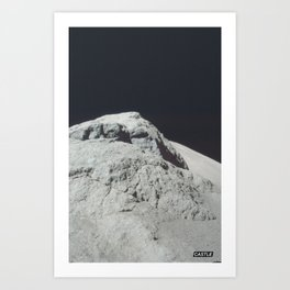 SURFACE #3 // CASTLE Art Print