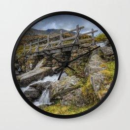 Lynn Idwal Bridge Wall Clock