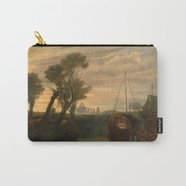 """J.M.W. Turner """"Newark Abbey"""" Carry-All Pouch"""