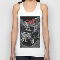 jeep Tank Tops featuring JEEP JPATW by Dmarmol