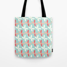 butterfly pattern retro color Tote Bag