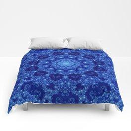 Ocean of Light Mandala Comforters