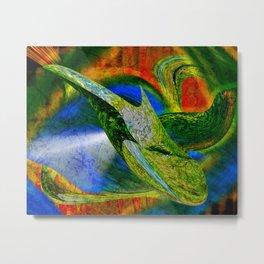 nobis sapidior abstracta Metal Print