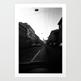 Salzburg NO2 Art Print