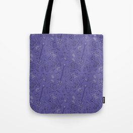 Inventory in Purple Tote Bag