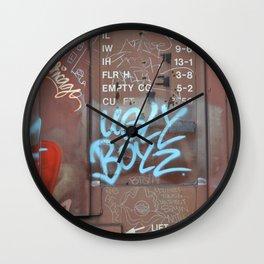 Ugly Boyz Wall Clock