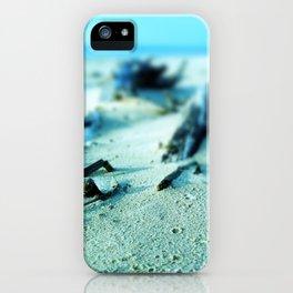 Baltic sea beach after rain iPhone Case