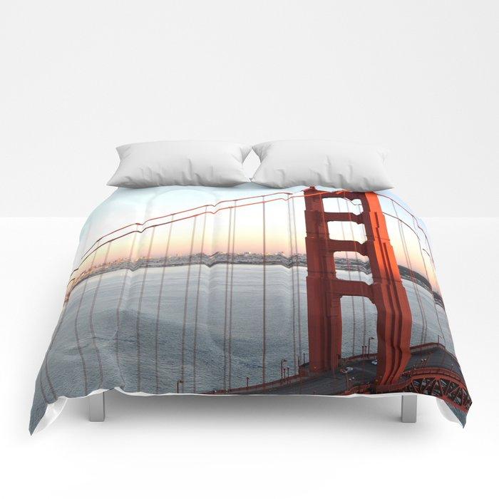 GOLDEN GATE BRIDGE Comforters
