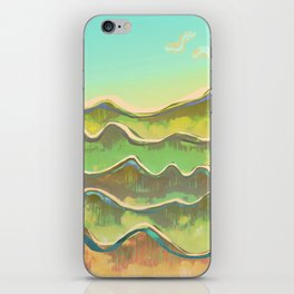 Magic Flight over the Sea of Clouds iPhone Skin