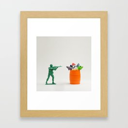Like Shooting Fish In A Barrel Framed Art Print