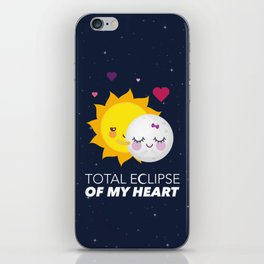 Total eclipse of my heart iPhone Skin