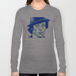 Rocky Balboa in a Hat Long Sleeve T-shirt