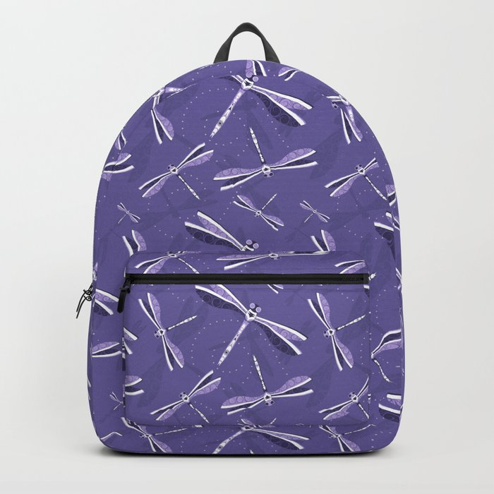 Violet lightness pattern Backpack