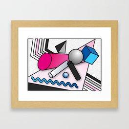 Trippy Shapes 2 Framed Art Print