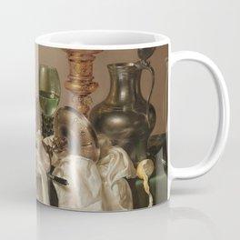Still life with gilded goblet - Willem Claesz. Heda (1635) Coffee Mug