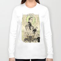 gatsby Long Sleeve T-shirts featuring the great nouveau gatsby by yo, sb!