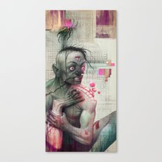 Self Analysis Defrag Canvas Print