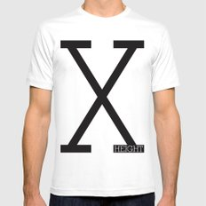 X-Height Mens Fitted Tee White MEDIUM