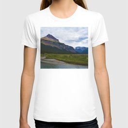Tangle Ridge in the Columbia Icefields area of Jasper National Park, Canada T-shirt