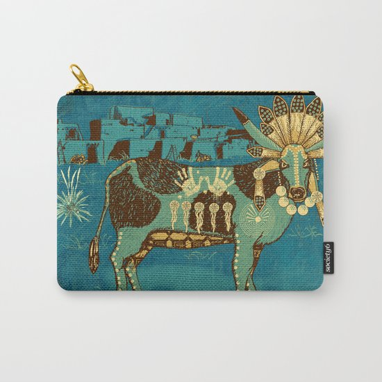 Cowchina Carry-All Pouch