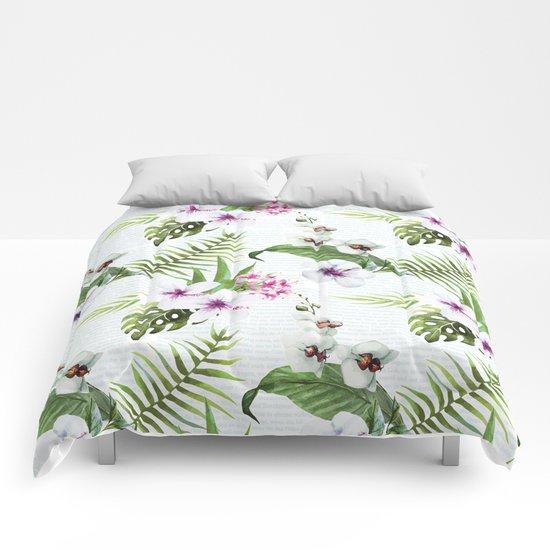 Tropical Summer #9 Comforters