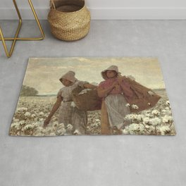 The Cotton Pickers by Winslow Homer, 1876 Rug