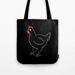 Poule Noire Tote Bag