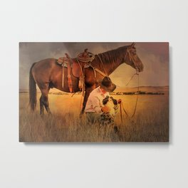 My Two Best Friends Metal Print