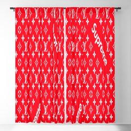 Idealsworld Designer Red Supreme Blackout Curtain