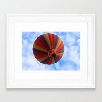 balloon Framed Art Prints featuring Balloon  by Christine baessler