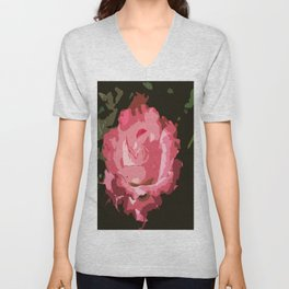 Rosegarden Rose Unisex V-Neck
