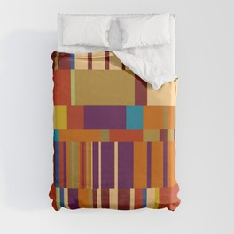 Chopin Prelude (Warm Colours) Duvet Cover