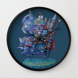Fandom Moving Castle Wall Clock