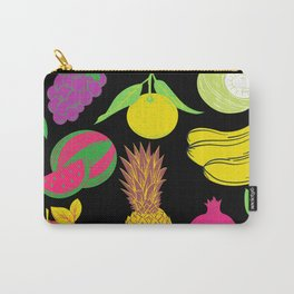 Fruit | Black Background  Carry-All Pouch