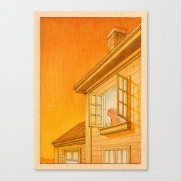 Wildfire Orange Canvas Print