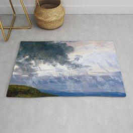 Johan Christian Dahl Drifting Clouds Rug