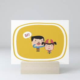 Let's Go! (Yellow Tales Series) Mini Art Print