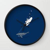 karma Wall Clocks featuring Karma by Clayton Dixon